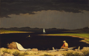 Art Prints of Approaching Thunderstorm by Martin Johnson Heade