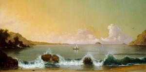 Art Prints of Rio De Janeiro Bay, 1864 by Martin Johnson Heade