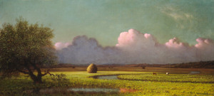 Art Prints of Sunlight and Shadow, the Newbury Marshes by Martin Johnson Heade