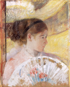 Art Prints of At the Theater II by Mary Cassatt