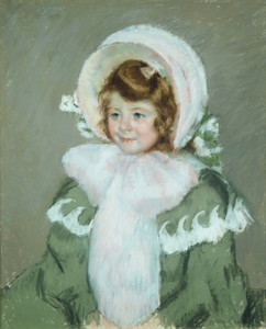 Art Prints of Child in a Green Coat by Mary Cassatt