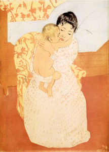 Art Prints of Maternal Caress, Sixth State by Mary Cassatt