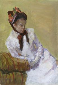 Art Prints of Portrait of the Artist by Mary Cassatt