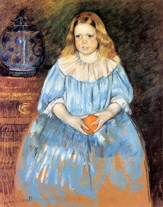 Art Prints of Portrait of Margaret Milligan Sloane by Mary Cassatt