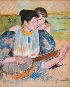 Art Prints of The Banjo Lesson, 1894 by Mary Cassatt