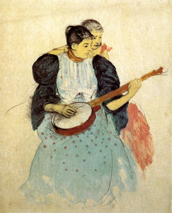 Art Prints of The Banjo Lesson, 1893 by Mary Cassatt