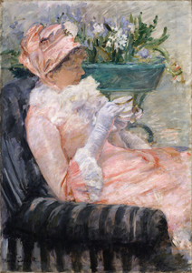 Art Prints of The Cup of Tea by Mary Cassatt