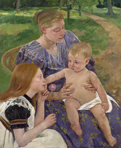 Art Prints of The Family by Mary Cassatt