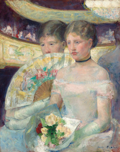 Art Prints of In the Loge, 1882 by Mary Cassatt