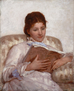 Art Prints of The Reader, 1877 by Mary Cassatt