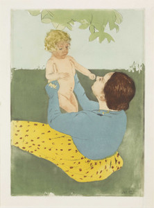 Art Prints of Under the Horse Chestnut Tree, No. 2 by Mary Cassatt