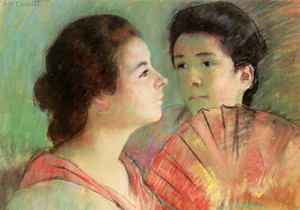 Art Prints of Two Sisters by Mary Cassatt