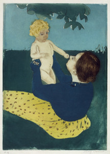 Art Prints of Under the Horse Chestnut Tree, No. 1 by Mary Cassatt