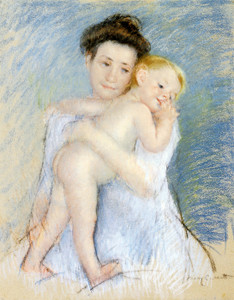 Art Prints of Maternal Tenderness by Mary Cassatt