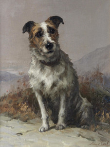 Art Prints of The More I See Men, the More I Admire Dogs by Maud Earl