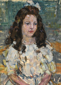 Art Prints of Head of a Girl by Maurice Prendergast