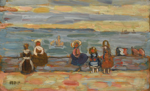 Art Prints of Saint-Malo II by Maurice Prendergast