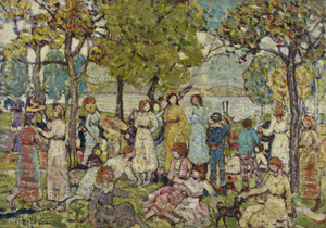 Art Prints of Holidays by Maurice Prendergast