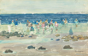 Art Prints of Low Tide by Maurice Prendergast