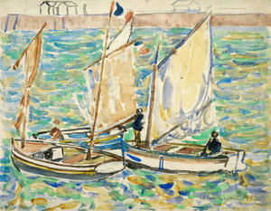 Art Prints of Saint malo by Maurice Prendergast