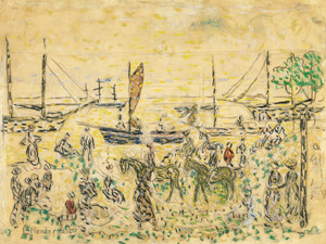 Art Prints of The Shore by Maurice Prendergast