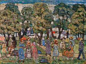 Art Prints of Under the Trees by Maurice Prendergast