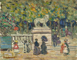 Art Prints of Tuileries Garden by Maurice Prendergast