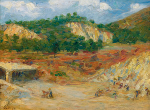 Art Prints of Excavation by Maximilien Luce