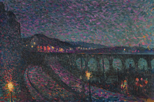 Art Prints of Nocturne Impression by Maximilien Luce