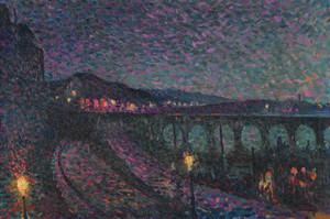 Art Prints of Nocturne Impression by Maximilien Luce