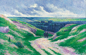 Art Prints of Moulineux Landscape by Maximilien Luce