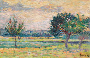 Art Prints of Orchard by Maximilien Luce