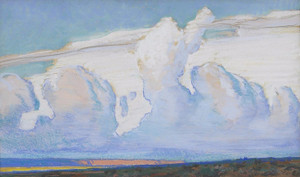 Art Prints of Desert Clouds by Maynard Dixon
