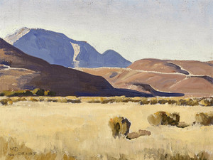 Art Prints of Desert Hills, Nevada by Maynard Dixon