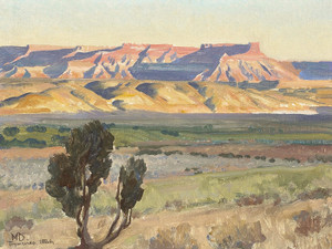 Art Prints of Field of Toquerville, Utah by Maynard Dixon