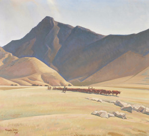 Art Prints of High Hills of Tehachapi by Maynard Dixon