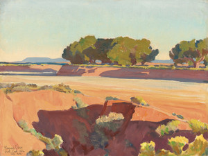 Art Prints of Shadows on Short Creek by Maynard Dixon