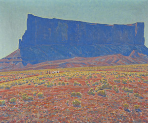 Art Prints of The Monument Navajo Reservation, Arizona by Maynard Dixon