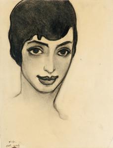 Art Prints of Mexican Girl by Maynard Dixon