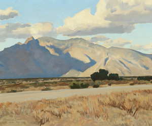 Art Prints of Ridge and Rillito, Arizona by Maynard Dixon