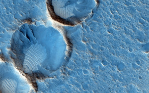 Art Prints of Ares 3 Landing Site, the Martian Revisited by NASA