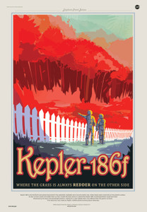 Art Prints of Kepler 186F by NASA/JPL-Caltech