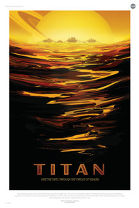 Art Prints of Titan by NASA/JPL-Caltech