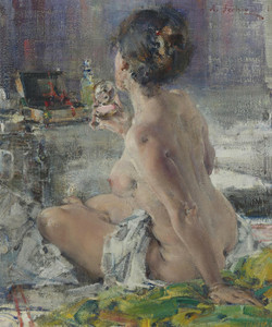 Art Prints of Nude Woman by Nicolai Fechin