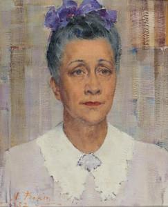 Art Prints of Portrait of Rose Davis by Nicolai Fechin