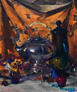 Art Prints of Still Life Kettle, No. 2 by Nicolai Fechin