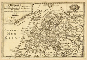 Art Prints of L'Europe, 1717 (2900003) by Nicolas De Fer