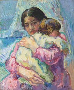 Art Prints of Maternity by Nikolai Aleksandrovich Tarkhov
