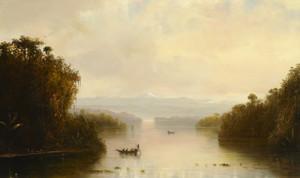 Art Prints of Tropical Landscape 1885 by Norton Bush