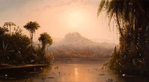 Art Prints of Quayaquil River Ecuador, South America 1881 by Norton Bush